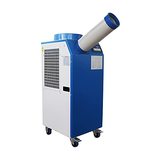 INTBUYING Industrial Air Conditioner Portable Aircon 18766 BTU/h Evaporative Coolers Portable Radiator 220V 1400W