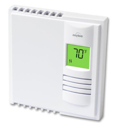Aube TH108Plus - Termostato programable calefacción eléctrica