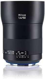 Zeiss Milvus 1.4/50 ZE, Camera mount: Canon EF-Mount (ZE)   Nikon F-Mount (ZF.2)