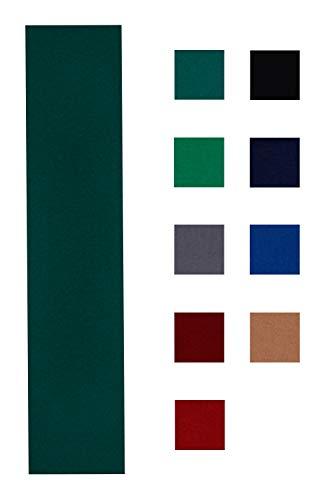 Accuplay 20 oz Pre Cut Pool Table Felt - Billiard Cloth Spruce Green for 8' Table (Spruce Green, for...