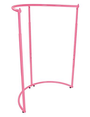SSWBasics Hot Pink Half Round Clothing Rack