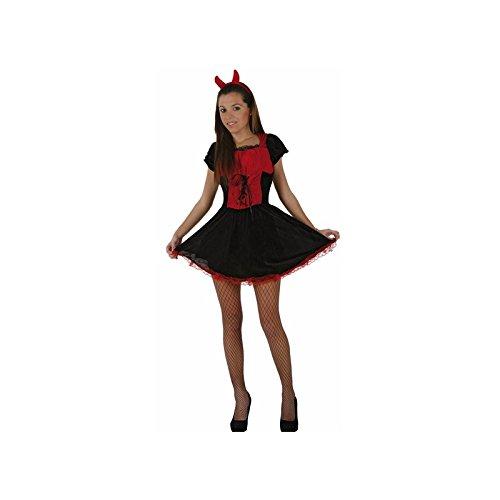 Atosa - Disfraz de diablesa para mujer, talla 38-40 (70289)