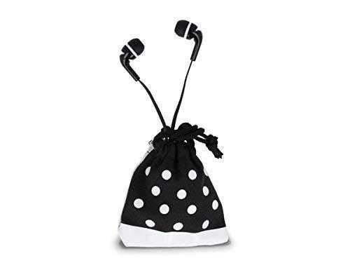 Forever In Ear hoofdtelefoon met Mircofon/headset, platte kabel, voor iPhone/Samsung/mobiele telefoon/smartphone/MP3-speler, iPod, sport/joggen, lange kabel