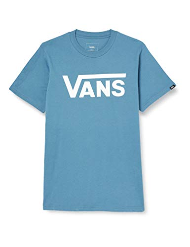 Vans_Apparel Classic T-Shirt, Bleu (Copen Blue-White Pii), Small Homme