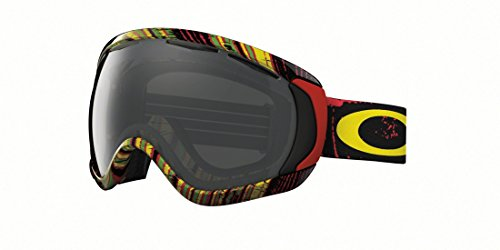 Oakley Canopy Stumped Rasta Ski Goggles, Dark Grey