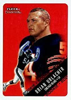 2000 Fleer Tradition #309 Brian Urlacher RC - Chicago Bears (RC - Rookie Card) NFL Football Trading Card