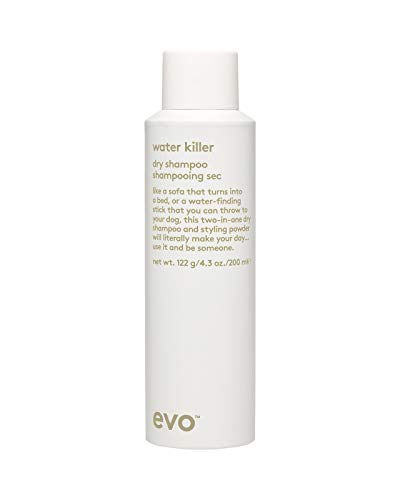 Evo Water Killer Dry Shampoo, 200 ml