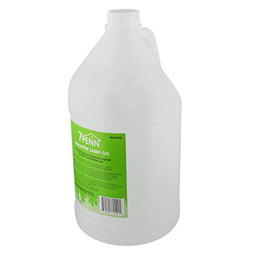 7Penn Odorless Smokeless Lamp Oil Fluid - 1 Gal Clear Paraffin Oil Lantern Fuel for Indoor and Outdoor Use