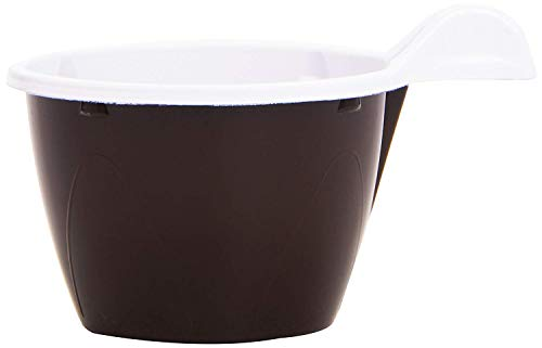 PZ 250 TAZZINA PER CAFFE' CON MANICO TAZZA BICOLORE BICCHIERE CAFFE' IN PLASTICA CL 10 COFFEE AND HOT DRINKS