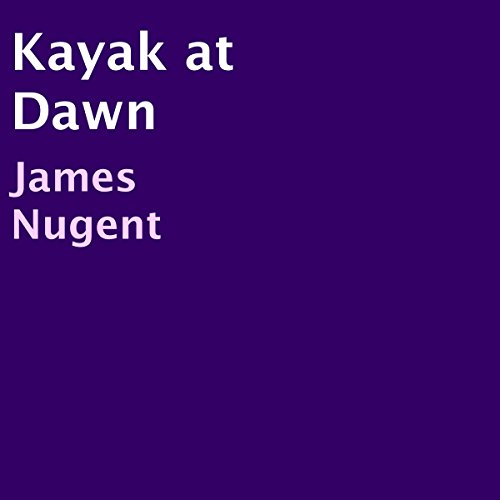 Kayak at Dawn audiobook cover art