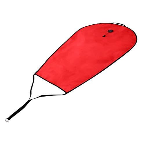 Fenteer Nadmuchiwana bojka do pływania Swim Boje torba do przechowywania do nurkowania
