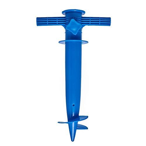 Chengstore Plastique Parasol de Plage Sable Ancre Support