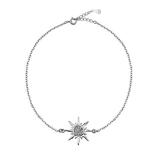 SOFIA MILANI Pulsera Mujer Estrella Sol Plata de Ley 30215