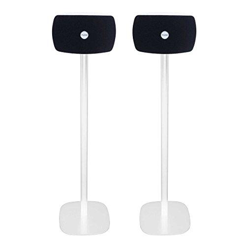 Vebos Standfuß Pure Jongo TX2 weiß EIN Paar - Hohe Qualität en optimales Klangerlebnis in jedem Zimmer - Hier können Sie Ihre Pure Jongo TX2 auf jeden gewünschten Standort befestigen