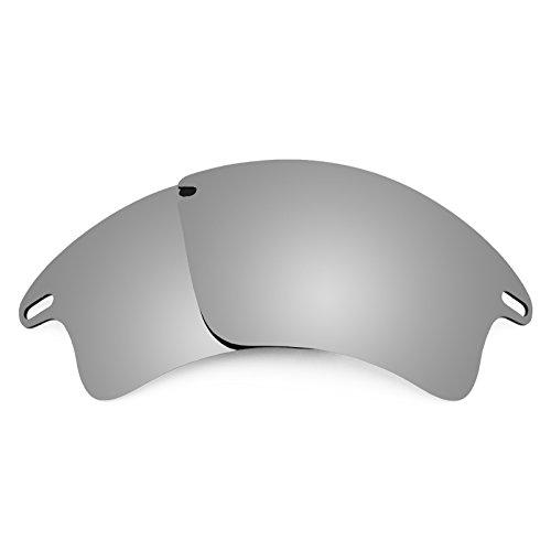 Revant Replacement Lenses for Oakley Fast Jacket XL, Non-Polarized, Titanium MirrorShield