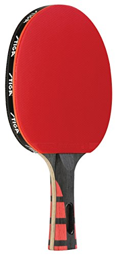 STIGA Evolution PerformanceLevel Table Tennis Racket Made with Approved Rubber for Tournament Play