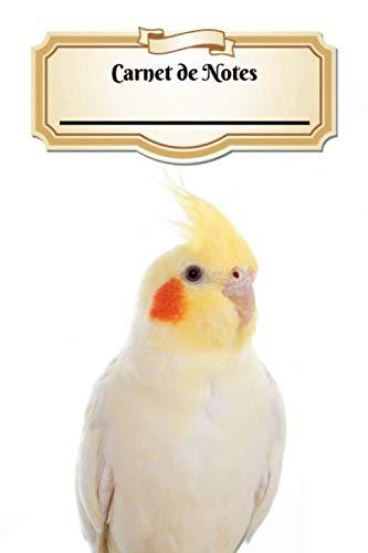 Carnet De Notes: Calopsitte Élégante | Oiseau | A5 139 Pages Avec Papier Pointillé | Bullet Journal | Art Notes | Cahier | Dotted Journal | Notebook | Espace pour votre nom, classe, cours