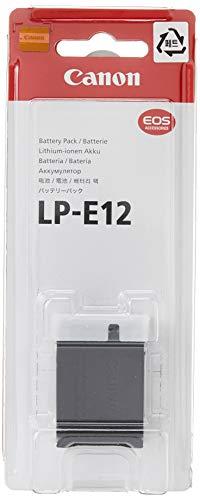 Canon Batteria Ricaricabile LP-E12 Compatibile con Canon EOS M