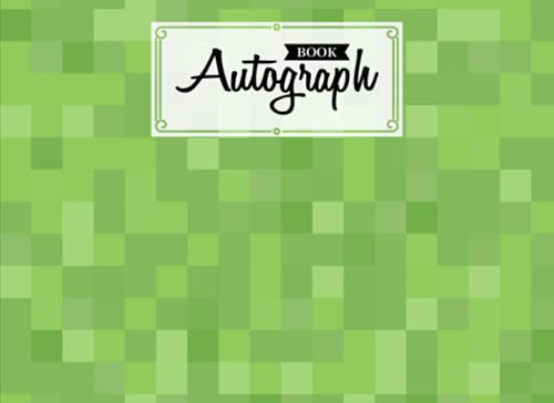 """Compare Textbook Prices for Autograph Book: Minecraft Cover 