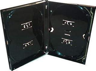 Amaray Multi 4 - Caja para 4 DVD (10 unidades), color negro