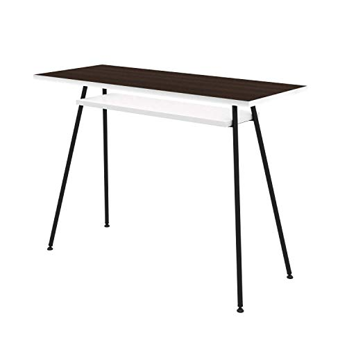 LEVIRA - Mesa de Oficina, Escritorio, Mesa de Ordenador, Kost Colors - 100 x 75 - Negro 🔥