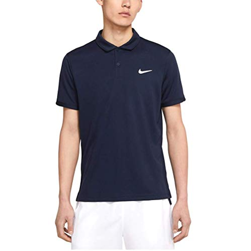 Nike Court Dri-FIT Victory - Polo de tenis para hombre - azul - XX-Large