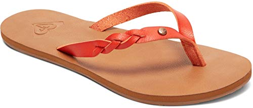 Roxy Damen Liza Flip Flop Sandale, Orange (Blazin Orange), 39 EU