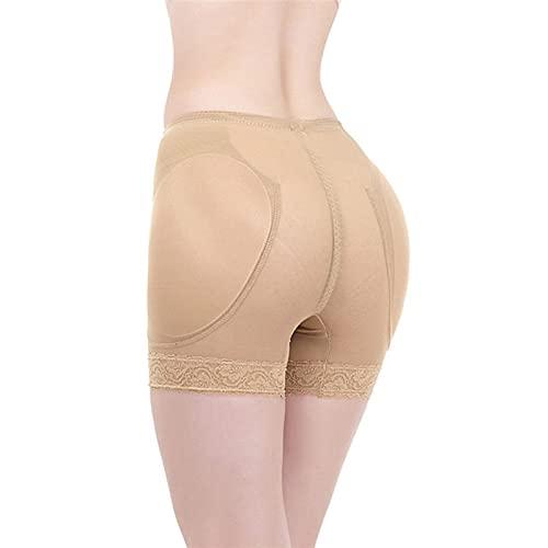 ZQW Cintura Alta Shapewear Levanta Gluteos Mujeres, Control Barriga Bragas Muslo Adelgazante Adelgazar Pantalones Moldeadores De Cuerpo Ropa Interior (Color : B, Tamaño : 4XL)