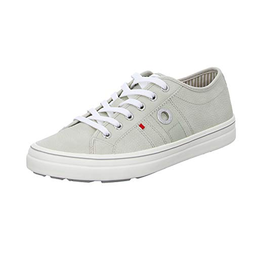 s.Oliver Damen 5-5-23640-24 Sneaker, Grau (Lt Grey Struc. 219), 38 EU