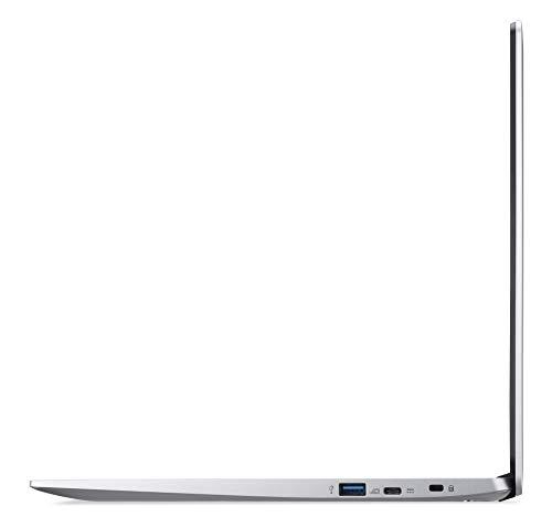 Acer Chromebook 315 (15,6 Zoll Full-HD IPS Touchscreen matt, 19,7mm flach, extrem lange Akkulaufzeit, schnelles WLAN, MicroSD Slot, Google Chrome OS) Silber