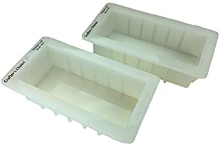 Crafters Choice Regular 1501 Silicone Loaf Soap Mold 2 Pack