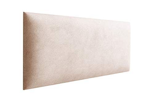 3D Wandpolster aus Stoff - Wandpaneel mit 35mm Polsterung - Wandpolsterung zur Selbstmontage - Wandkissen ohne Montageset