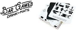 SUCK UK Bar Games Drink Mats サックユーケー バーゲームドリンクマット テーブルゲーム コースター お酒 バー ギフト パーティー用 イギリス雑貨