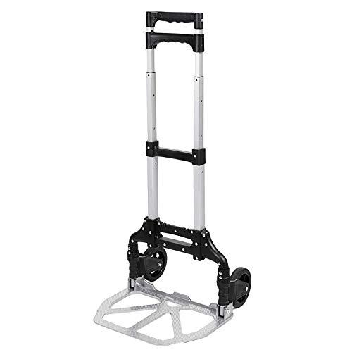 Walgreen AQ1 sack cart made of sturdy aluminum, collapsible, 80kg maximum load capacity