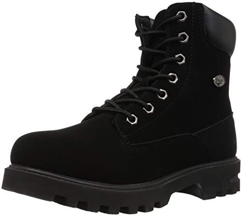 Lugz Unisex-Kid's Empire Hi WR Fashion Boot, Black, 6 D US Big Kid