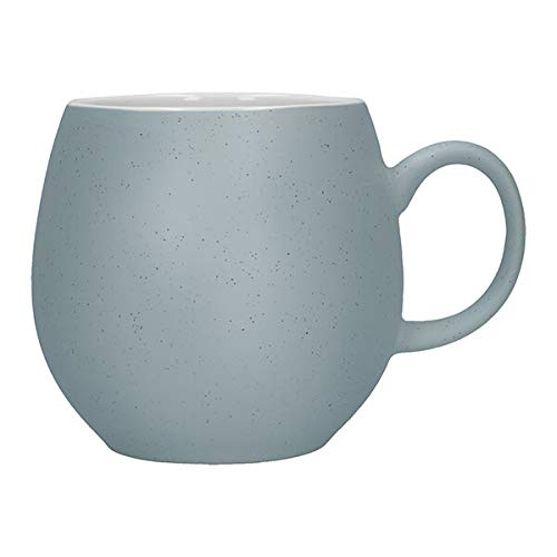 NEW PEBBLE GRIS Mug - Lot de 4 - Matière : Faience - Couleur : Gris clair - Mugs unis - Bruno Evrard