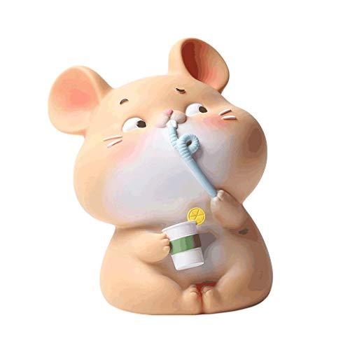 Qazxsw Money Banks Lovely Little Mouse Piggy Bank Vinyl, Juguetes para niñas y niños, niños y Adultos Money Banks Coin Banks,...