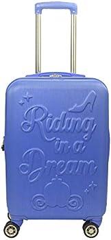 Ful Disney Princess Cinderella Hard-Sided 21 Inch Carry On Luggage