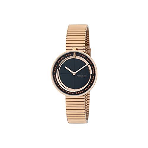 Pierre Cardin Marais Mirror CMA.0010 - Reloj de pulsera para mujer (cuarzo, acero inoxidable, con correa de acero inoxidable)
