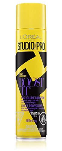 L'oreal Paris Studio/Pro Boost It Spray Volume Strong 400ml
