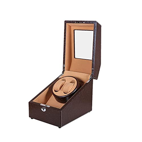 YLJYJ Watch Winder Apple Wood Watches Storage Box Automatic Mechanical Watches Winder Silent Motor Watch Shaker Solid Wood Watch Windingwith Access Control
