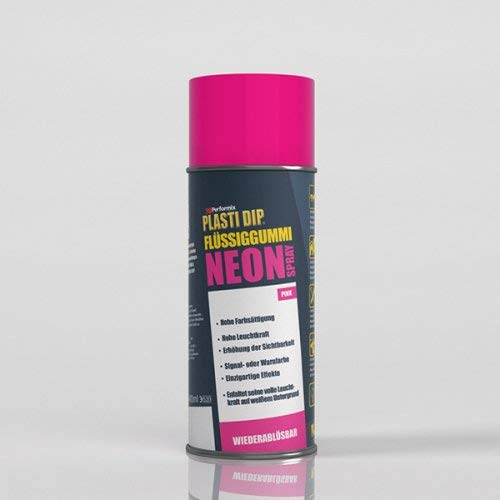 Plasti Dip 61090019 Flüssiggummi Spray, 400 ml, Neon Pink