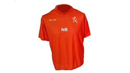 Spielfussballshop Holland Niederlande Trikot mit Wunschname Nummer Kinder Größe 152