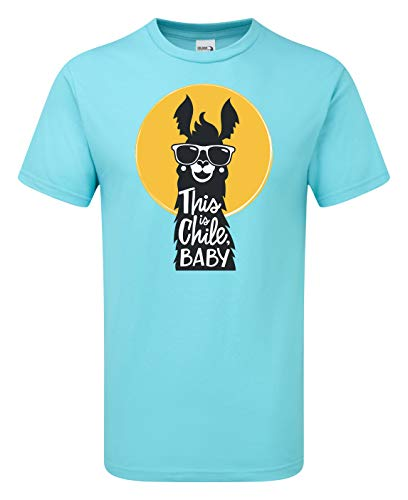 Scattee Chile - Camiseta para bebé Azul azul (lagoon) S 46/48
