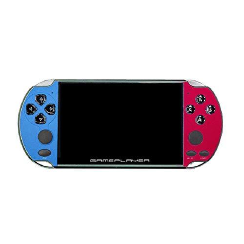 YOKING X7 Plus - Consola de juegos con pantalla LCD de 5 pulgadas, consola de videojuegos, diseño retro portátil con doble joystick, con 10000 juegos