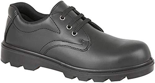 Grafters M361A veiligheidsschoenen voor heren In zwart