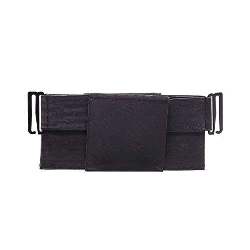 lefeindgdi Bolsa de cinturón antirrobo, bolsa de cintura minimalista, bolsa invisible elástica para la seguridad del dinero