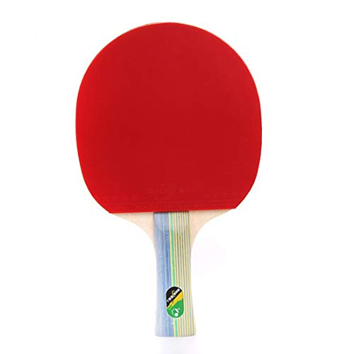 Amazing Deal HUATINGRHPP Ping Pong Table Tennis Balls Bats Ping Pong Paddle Shake Hands Grips Handle...