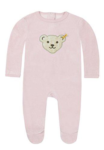 Steiff Collection Steiff Unisex - Baby Bekleidungsset Strampler 0002892 (Weitere Farben), Rosa (Barely Pink), 62