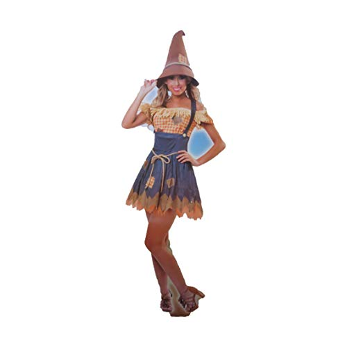 Cornfield Cutie Scarecrow Womens Costume Small 4-6